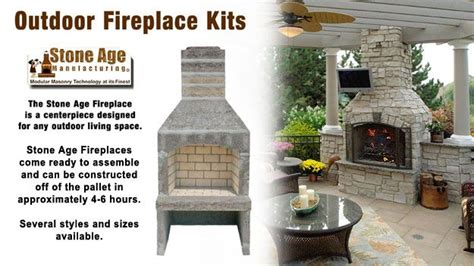 small outdoor fireplace kits outdoor fireplace kit by