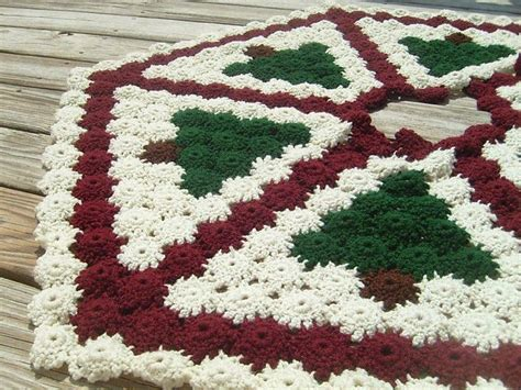 free crochet pattern for xmas tree skirt free crochet patterns to decorate your home for the