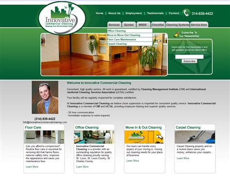 15 page website designing prices cleaning companies