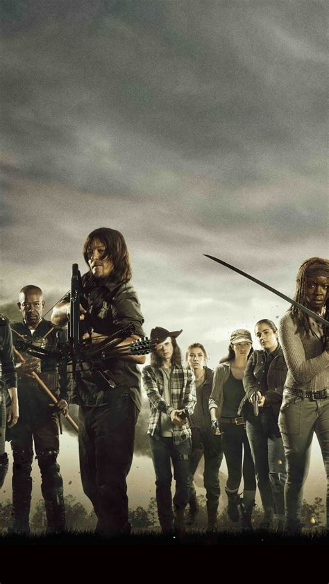Poster Serial Tv The Walking Dead Cast 40x60cm the walking dead cast poster hd 4k wallpaper