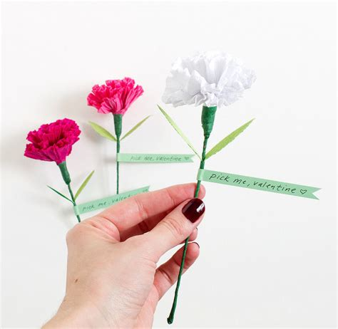 How To Make Paper Carnations - paper carnation pictures photos and images for