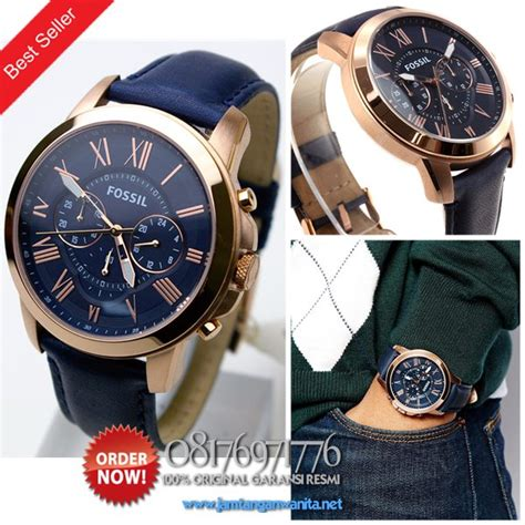 Leather Blue Rosegold Jam Tangan Wanita Cewek Hush Puppies promo jam tangan fossil fs4835 original fossil best seller