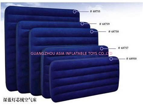 different bed sizes red durable pvc tarpaulin inflatable sofa air bed