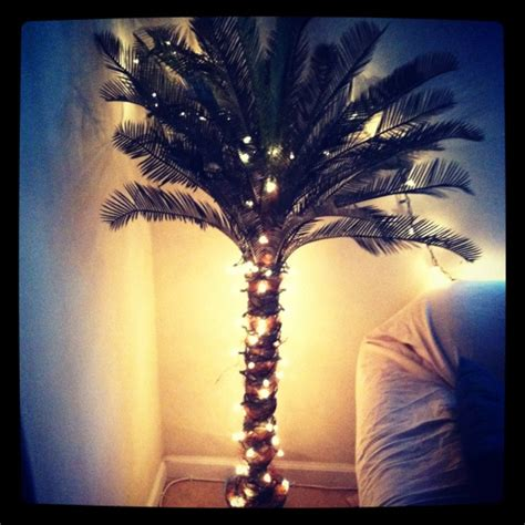how to wrap christmas lights around a tree diy lighted palm tree wrap christmas lights around the