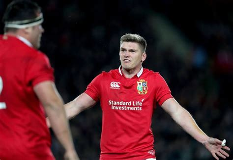 farrell on the bench picks new zealand v lions second test team news sam warburton