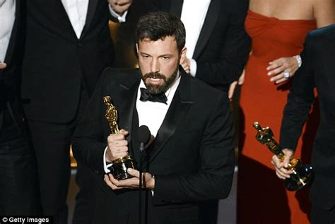 Whos Going To Win This Years Beard Awards by Ben Affleck Shaves Beard At Oscars After Argo Win