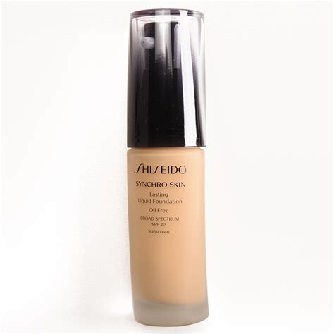 Shiseido Synchro Skin Foundation sponsored shiseido synchro skin lasting liquid foundation