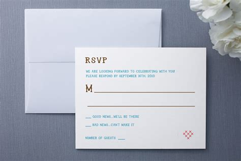 how to make rsvp cards ways to word rsvp on wedding invitations regretfully