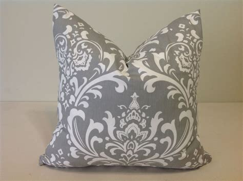 decorative pillow slipcovers decorative throw pillow cover gray and white cushion