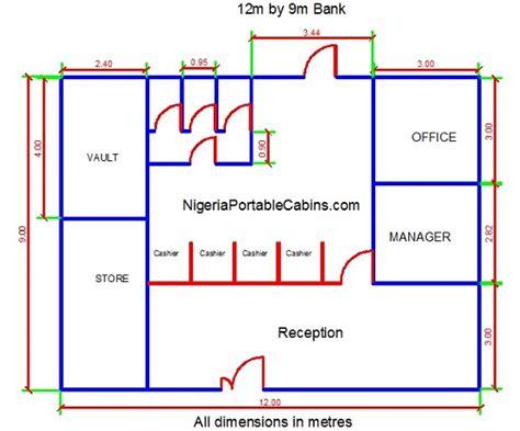 Country Cabin Floor Plans microfinance bank construction nigeria portable