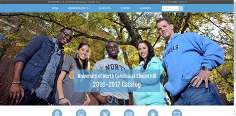Unc Registrar Office by Check Out Unc Chapel Hill S New Catalog