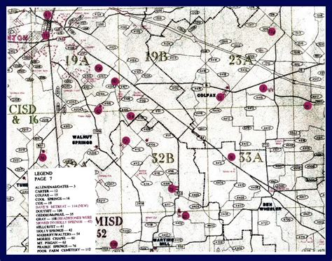 zandt county map page 7