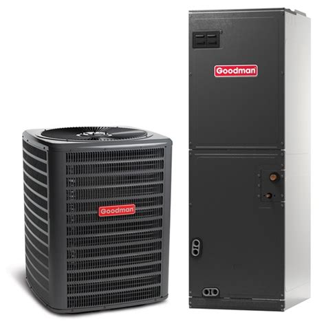 central air and heat 4 ton goodman 14 seer central air conditioner heat multi position system heaters