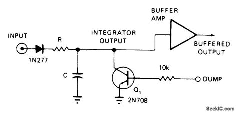 integrator dump circuit integate and dump basic circuit circuit diagram seekic
