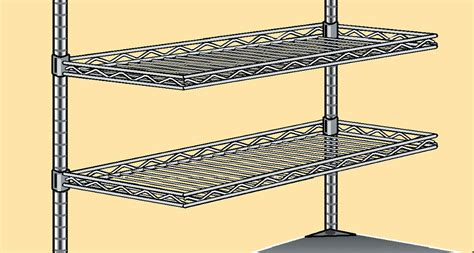 cantilever shelves for overhead indoff conductive and