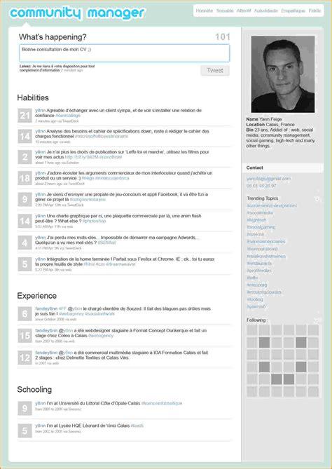 Modèle Cv Mise En Page by Exemple Mise En Page Cv Exemple De Cv Simple 2015