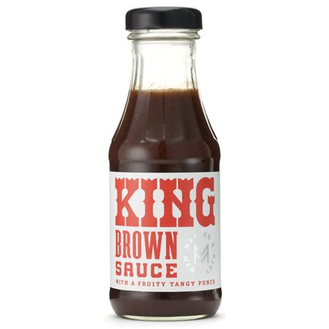 makers merchants king brown sauce 305g makers merchants