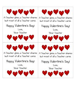 valentines card greetings for teachers s day card from the erica s ed ventures