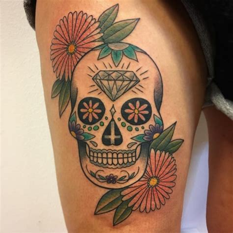 small sugar skull tattoo meaning 125 best sugar skull designs meaning 2018