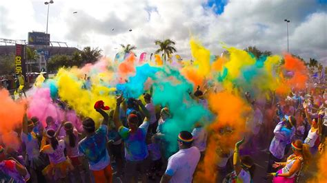 color tun the color run 5k gopro hero4 2014