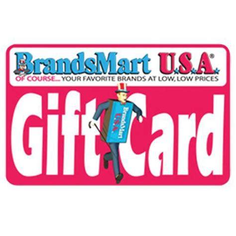Brandsmart Gift Card - brandsmart usa gift card 100 one hundred dollars brandsmart usa