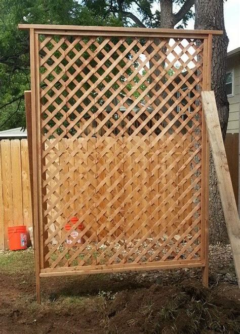 how to get privacy in your backyard 25 best ideas about privacy trellis on pinterest