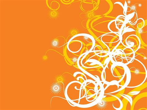 design your background orange background design vector art graphics