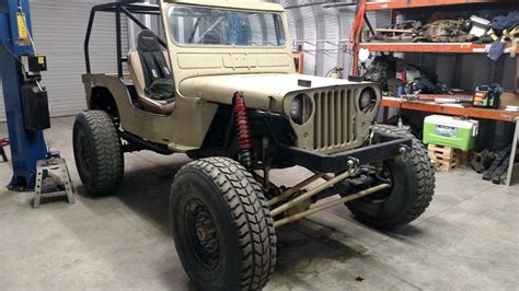 jeep willys custom 1947 willys cj2a custom for sale in beaumont ca 7 800