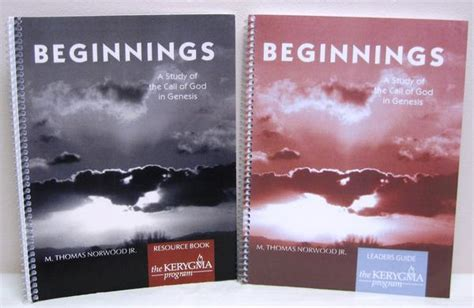 god of creation leader kit a study of genesis 1 11 books beginnings leader kit a study of the call of god in