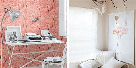 flamingo wallpaper bedroom your home will soar by adding a little flamingo decor