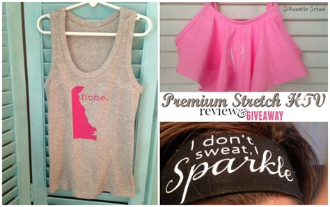 Premium Giveaway Ideas - premium htv stretch review project ideas giveaway silhouette tutorial