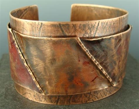 images  jewelry cuffs   pinterest copper
