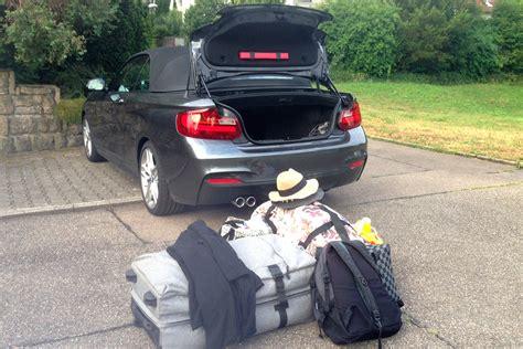 Bmw 2er Maße Kofferraum by Bmw 220d Cabrio Test Bmw 2er F23 Cabrio