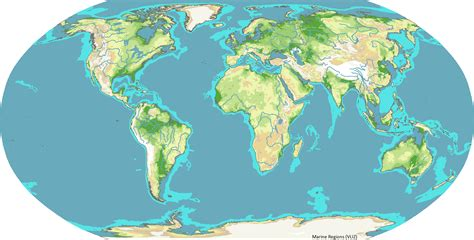 Shelf Map by Marine Regions Photogallery