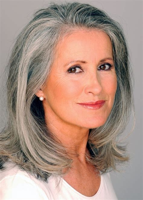 haircolor for 64 yr old woman 273 best gray over 50 hair images on pinterest grey