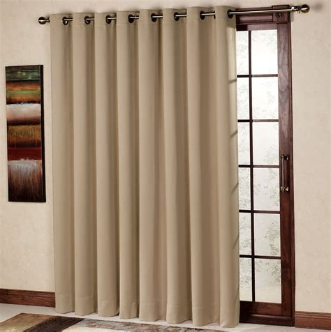 sliding door drapery panels single panel curtain for sliding glass door home design