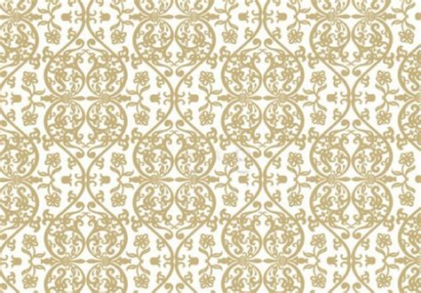 Modern Floral Wallpaper by White Gold Wallpaper Wallpapersafari
