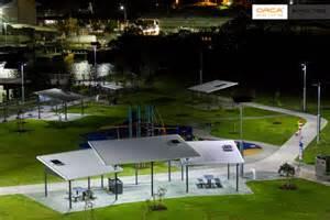 Solar Car Park Lighting Australia Solar Park Lighting Recreation Area Lights Orca Solar