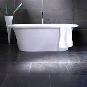 Grey Slate Tile Bathroom » Home Design