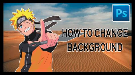 tutorial adobe photoshop mengganti background cara mengganti background adobe photoshop tutorial youtube