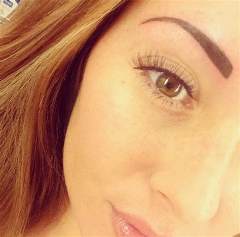 tattoo eyebrows recovery beaut 233 drogu 233 semi permanent makeup eyebrows first