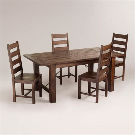 World Market Dining Room Furniture Garner Dining Table And Chairs Furniture Set World Market