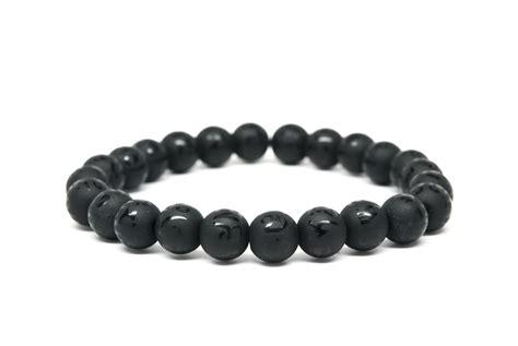 black onyx bead bracelet for black onyx beaded mens bracelet handmade beaded bracelet