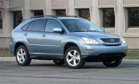 lexus rx 350 blue car and driver
