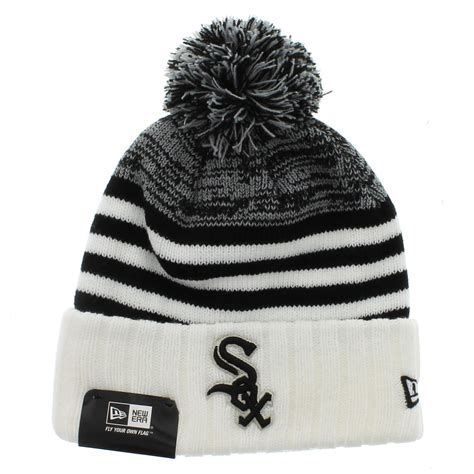 white sox colors chicago whitesox the snowfall stripe beanie team colors