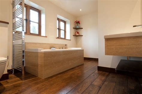 wood floor in bathroom wooden flooring for your bathroom is it the right choice
