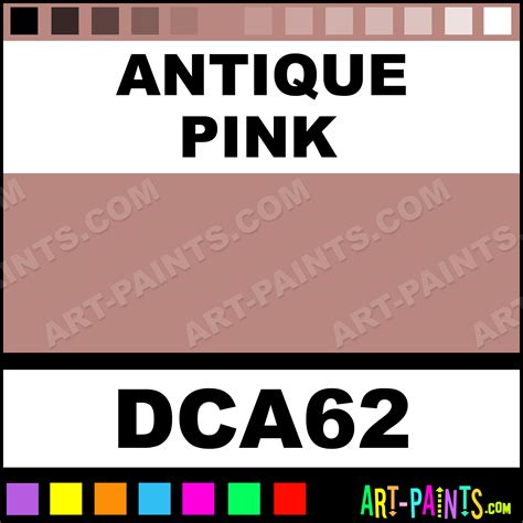 antique pink crafters acrylic paints dca62 antique