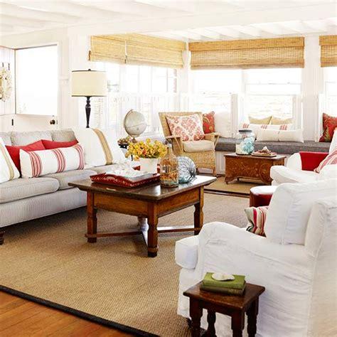 White Sofa Wohnzimmer Dekorieren Ideen by Deko Ideen Dekorieren Sie Ihr Haus Neben Dem Strand