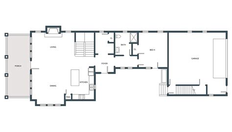 House Plans 1 Floor Nantucket House