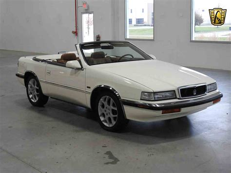 Chrysler Tc Maserati For Sale by 1990 Chrysler Tc By Maserati For Sale Classiccars